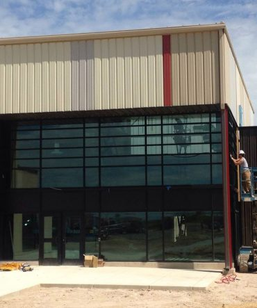 Tall Glass Window Commercial Services in Pueblo