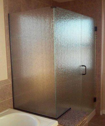 Fogged Shower Glass Door Installation in Pueblo, CO