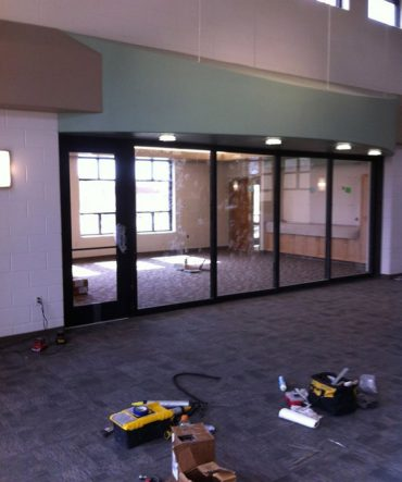 Indoor Glass Windows and Doors for Pueblo Business