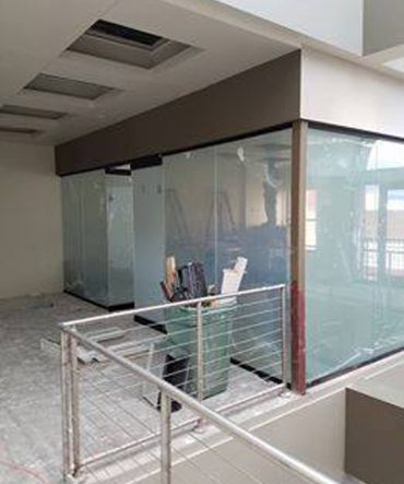 Semi Fogged Glass Windows and Doors for Pueblo Business