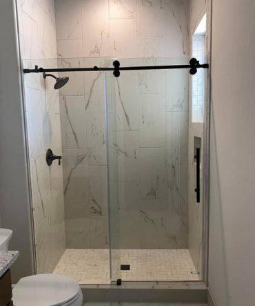 Sliding Glass Shower Door Project